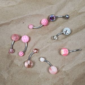 Lot of Belly Button rings